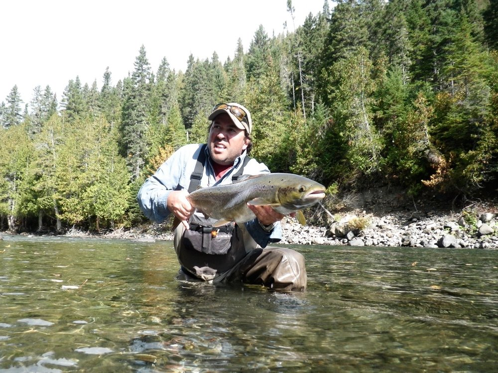 Joe Coletta has been coming to Salmon Lodge for many years, a great guy and angler as well. congratulations Joe!