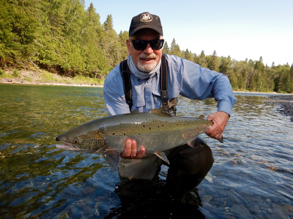 Salmon Lodge regular Michael Kendrick with a nice Bonaventure beauty, well done Michael!