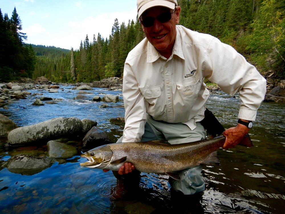 Ed Burlingame is no stranger to salmon fishing, didn't take him long to get this one, nice one Ed, congratulations!