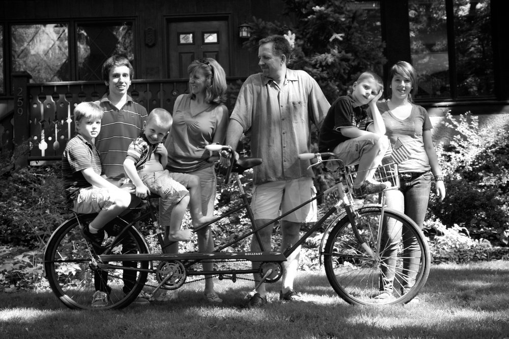 Friend Family 118B&WFamilyTandem.jpg