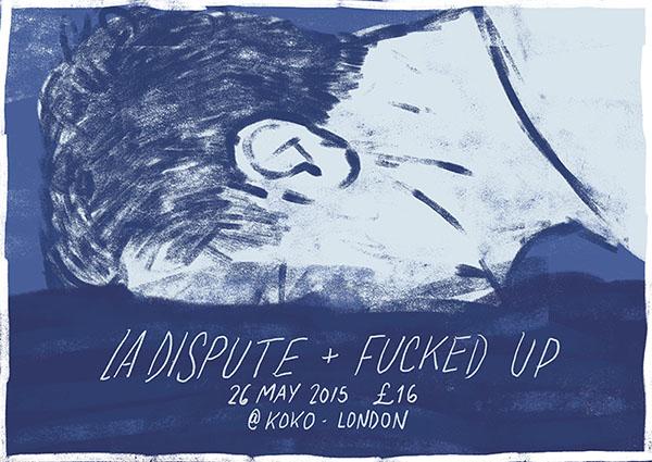 La Dispute/ Fucked Up - 2015