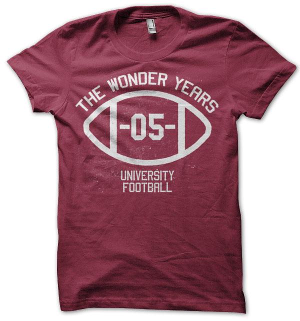 The Wonder Years - Temple Football Tee