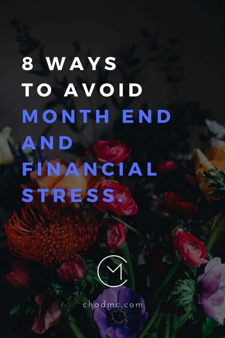 8waystoavoidmonthendfinancialstress