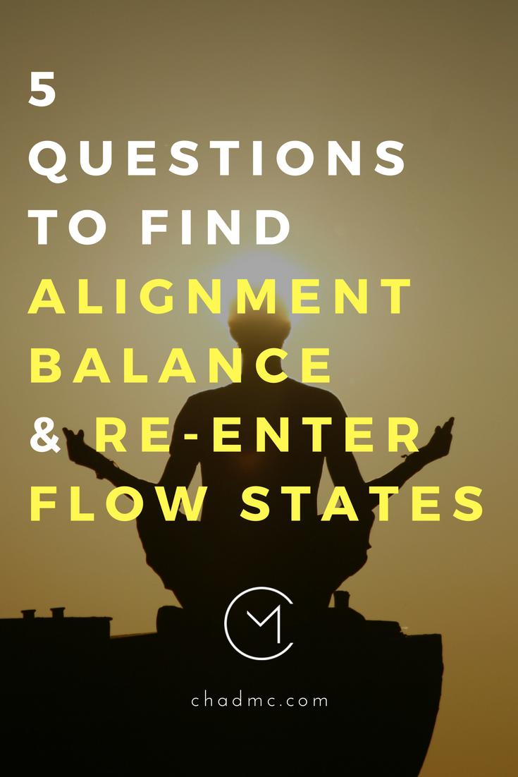 findalignmentbalanceenterflowstates