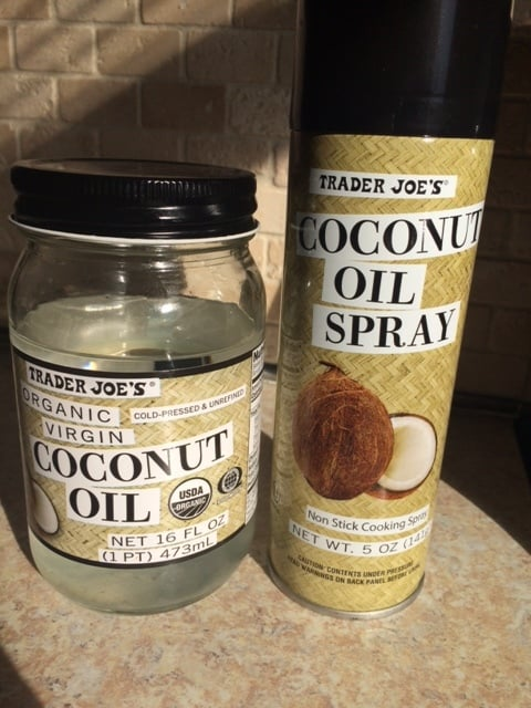 Coconut oil and Coconut Spray