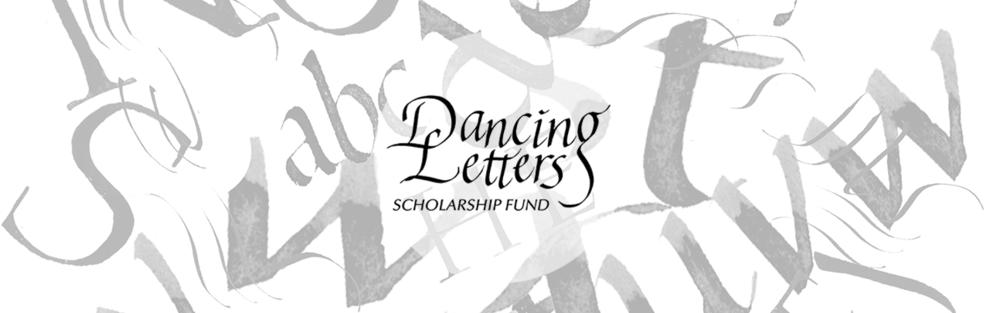 Dancing letters scholarship fund altavistaventures Choice Image