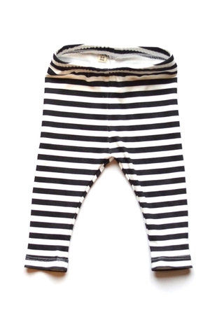 Black & White Striped Leggings — Practically Perfect a Baby Boutique