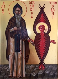 Translocation of the relics of St. Makarios the Great commemorated on 25 August