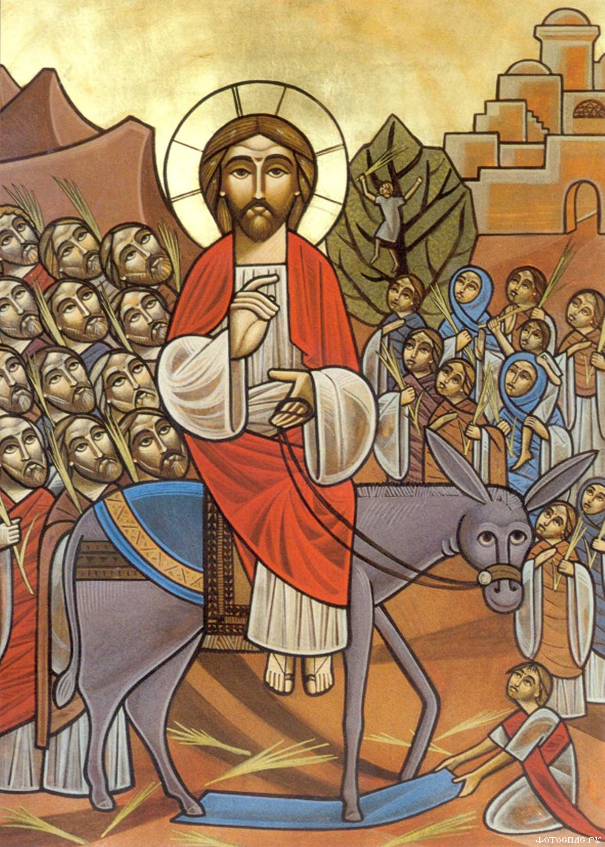 Image result for palm sunday jesus icon