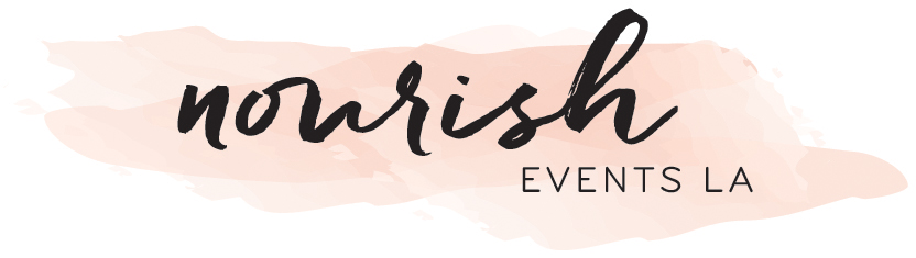 nourish events LA