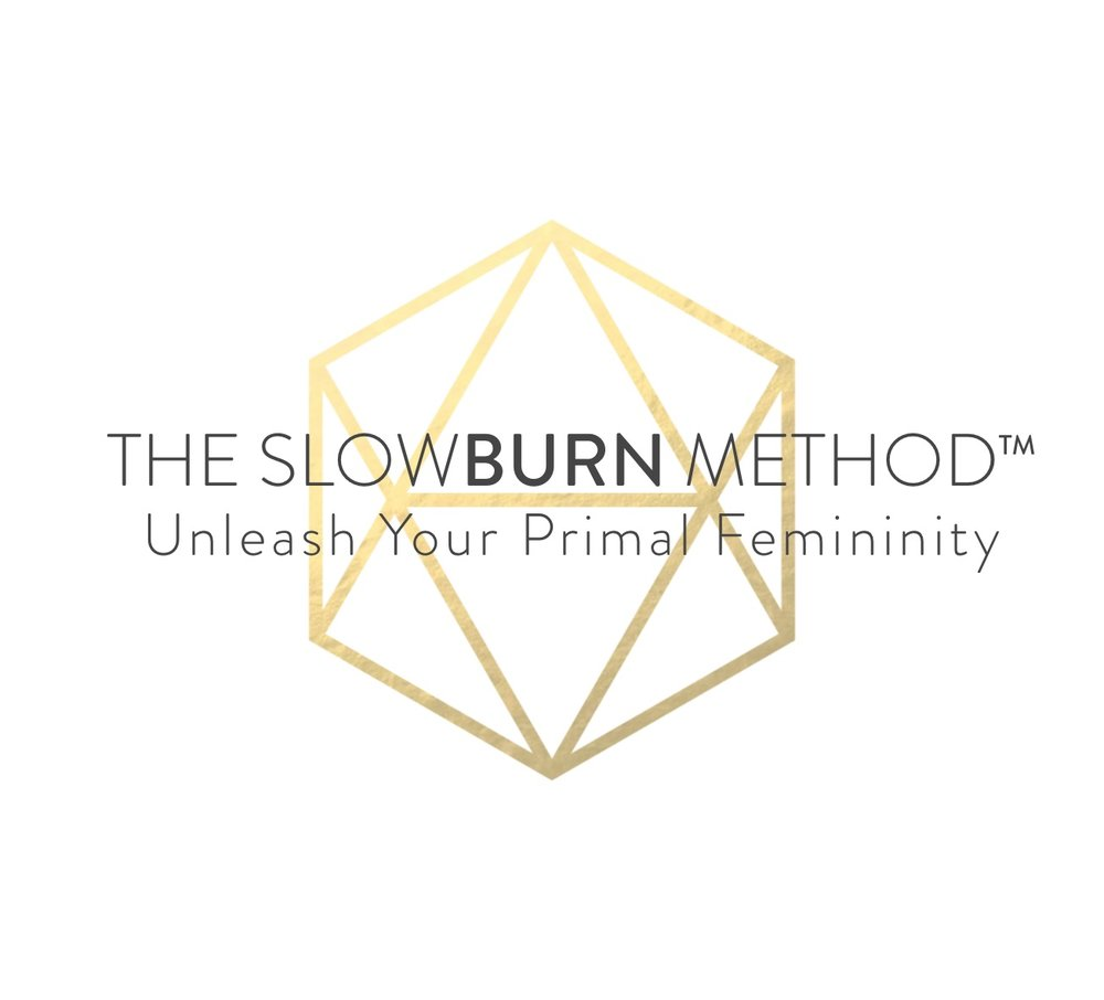 Logo 1 w design  - The SlowBURN Method small.jpg