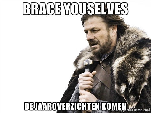 brace yourselves jaaroverzichten