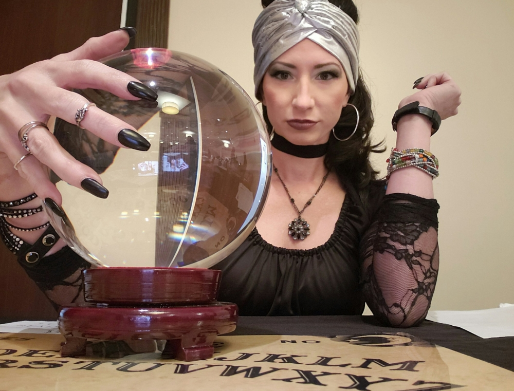 Madame Sundara - I tell fortunes, I read palms and tarot and am available for special events. Contact me at vedasundara@gmail.com or follow me on Instagram @madamesundara and send me a direct message.
