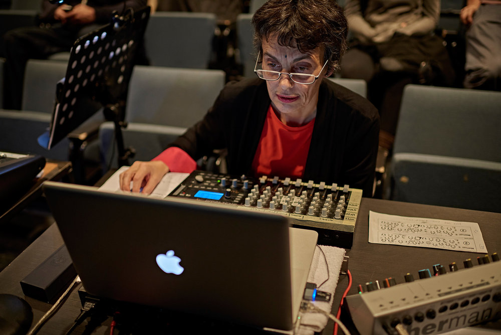 Elisabeth Schimana @ Heroines of Sound Festival 2016, Dec 9th © marco microbi/photophunk.com