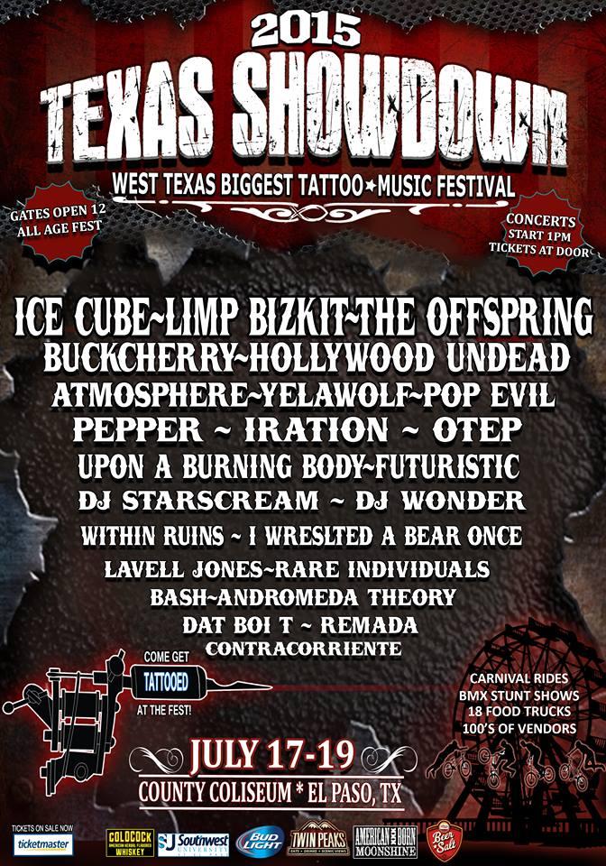 Flyer oficial del festival.