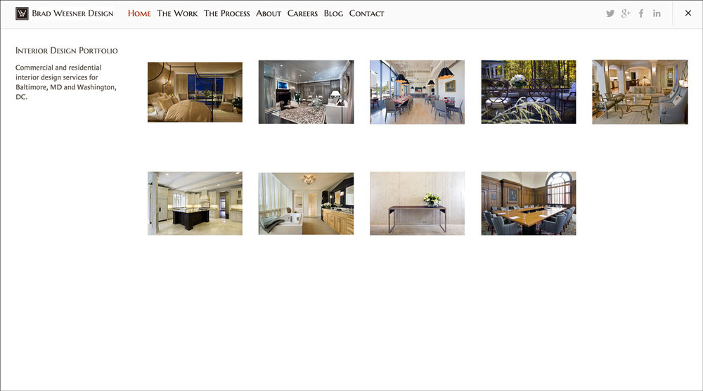 website portfolio means of production