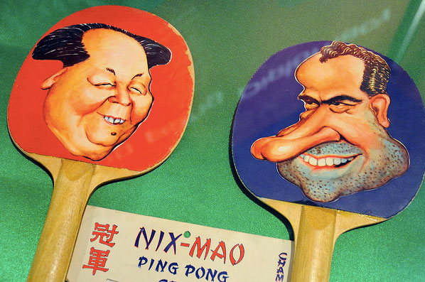 Visual Marketing Using Flickr and Ping Pong Diplomacy