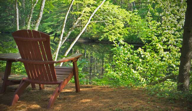 Find a peaceful spot to think through your blog strategy and write your articles