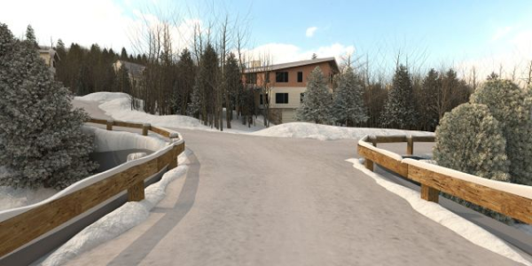 3D Render of Sundance at Mount Snow