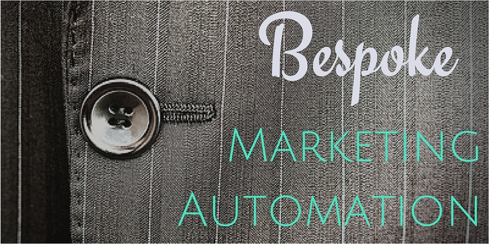 Bespoke, tailor-made or custom. Marketing automation can improve results through personalization