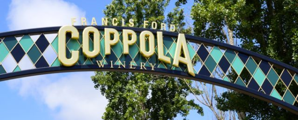 Francis Ford Coppola Winery at the former Chateau Souverain Property in Geyserville, CA