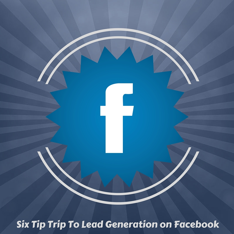 starburst facebook logo with lead generation call out