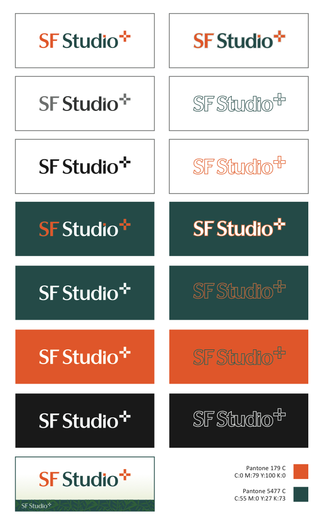 Logo For Landscape Architects SF Studio+
