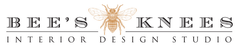 Bee's Knees Interior Design Logo.