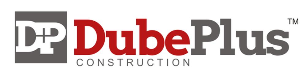 Dube Plus Construction Logo design
