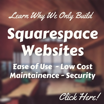 Why we use Squarespace to build websites