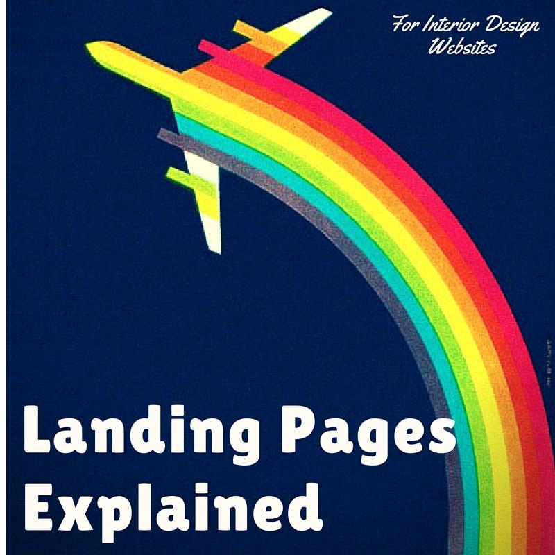 Landing Pages for Interior Design Websites