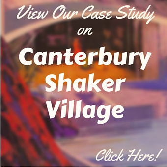 Canterbury Shaker Village branding and eCommerce Website Case Study