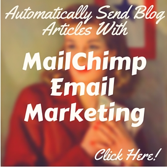 automatically email your blog using mailchimp