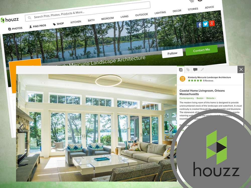 Kimberly Mercurio Landscape Architecture is a Houzz and Architectural Photography Client