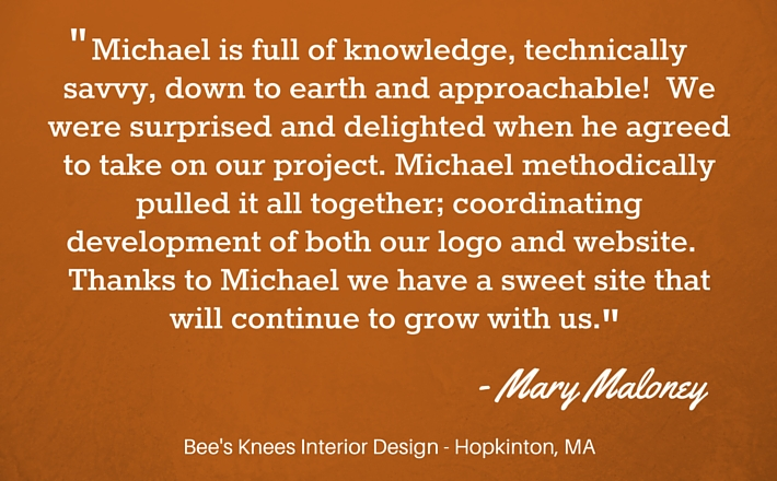 interior design testimonial for means-of-production