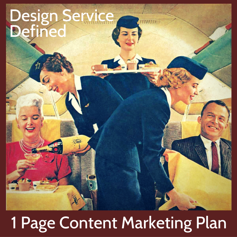 A One Page Content Marketing Plan For Architects And
