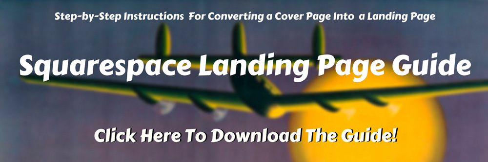 how to build a squarespace landing page