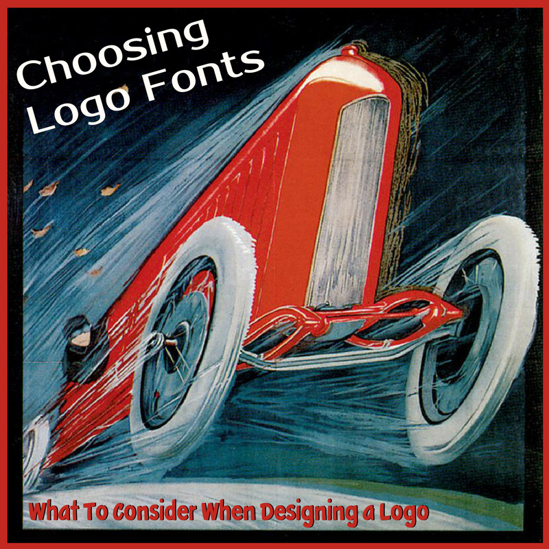 how to choose logo fonts