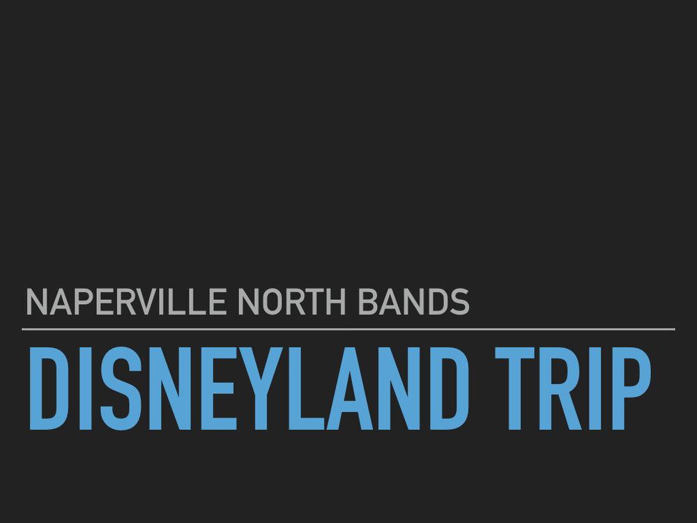 Disneyland Trip Meeting Presentation -