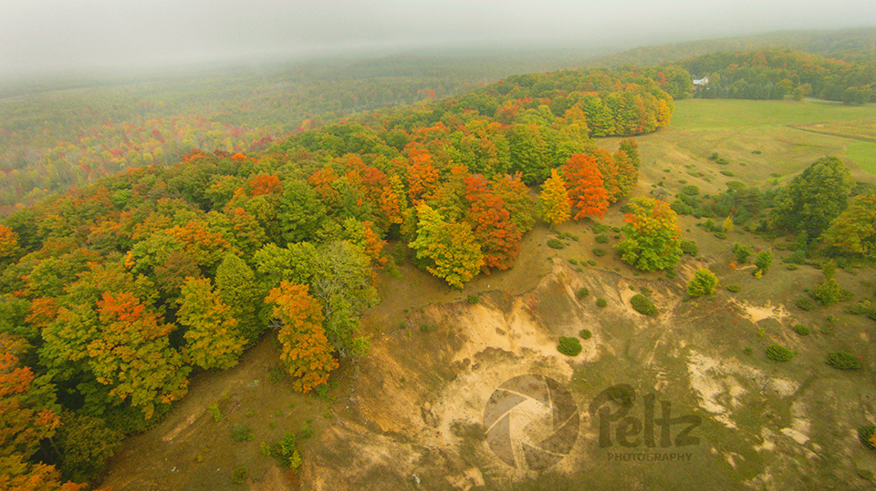 Fall Colors in Rogers City - Photo by Peltz Photography