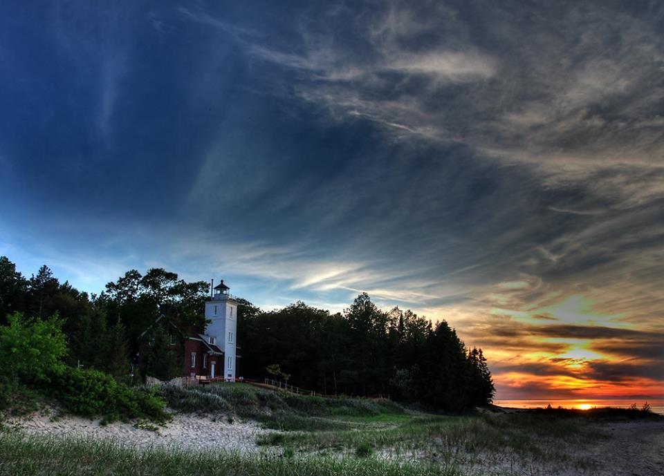 40 Mile Point Lighthouse-Photo by Terry Doyle