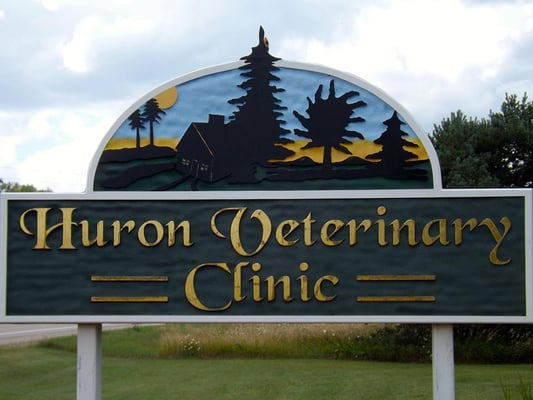 Huron Veterinary Clinic - 3189 US 23 SouthRogers City, MI 49779(989) 734-3731