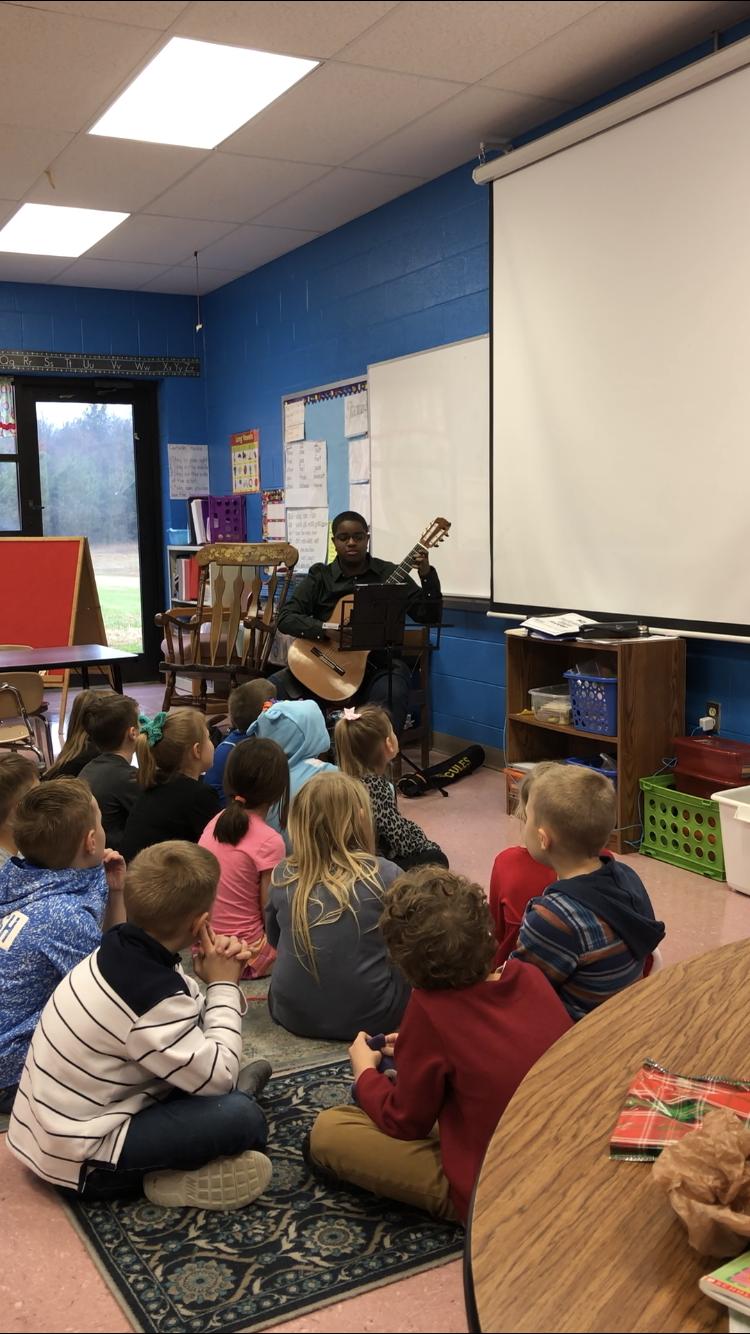 Photo from Rockvale Elementary School Holiday Celebration