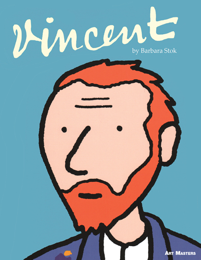 The cover of Vincent by Barbara Stok (SelfMadeHero, 2014)