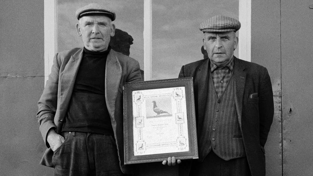 Robert and James Broxton, Easington Colliery, Co. Durham.  September 1974.