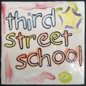 Third Street School tile
