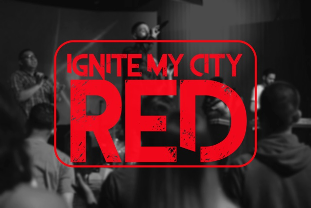 Ignite My City RED 2k16 is our annual conference. It is held in Modesto, Ca. Young adults gather to receive a call that God has placed for our generation.    CONFERENCE DATES: SEPTEMBER 28th, 29th AND 30th