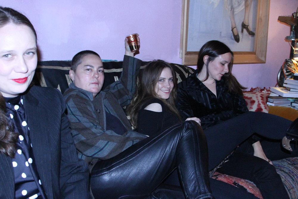 Ruta Behrend, Jelena Behrend, Sam Anderson & Sofi Brazzeal