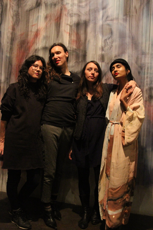 Tara Hart, Tuesday Smillie, Olga Dekalo & Baseera Khan