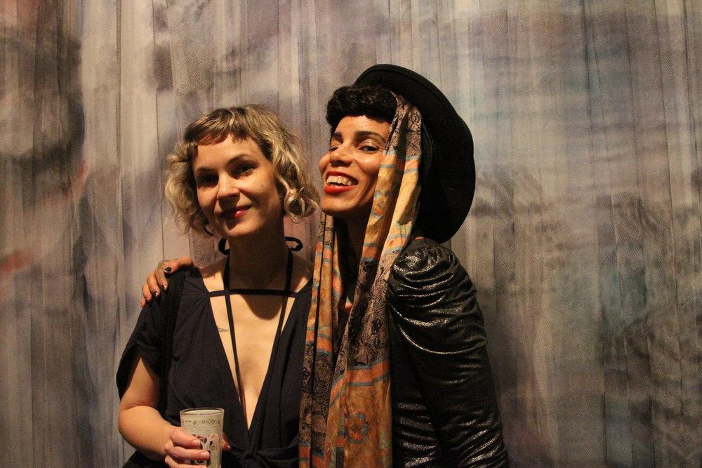 Leah DeVun & Isabelle Lumpkin